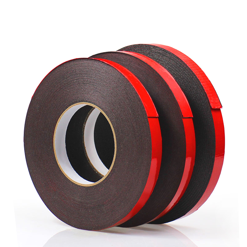 10M Double-sided Acrylic Foam Adhesive Tape Automotive Strong Permanent Acrylic 5MM-50MM For Architectural Decoration Car 5m strong waterproof adhesive double sided foam tape car trim plate width 6 9 12 19 25 38 50mm