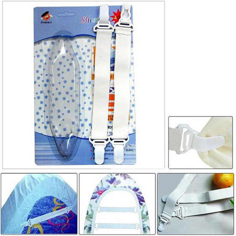 4 Giường Chăn Nệm Thun Giá Đỡ Giường Dây Kẹp Dụng Cụ Kẹp Bán Hàng Trang Trí Nhà EV tekstili