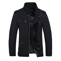 2015 Men Slim Fit Jacket Coats Brand Outerwear Stand Collar Casual Coats Jaqueta Roupas Masculinas Male