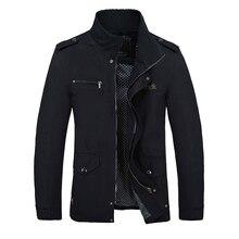 2017 männer Slim Fit Jacke Mäntel Marke Oberbekleidung Stehen Kragen Casual Mäntel Jaqueta Roupas Masculinas Männlichen Kleidung Im Freien M-4XL