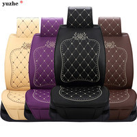 Universal PU Leather Auto Universal Car Seat Covers Automobile Seat Cover For Car Peugeot 206 For