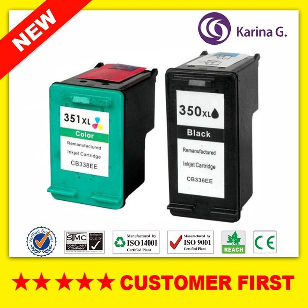 2PCS Remanufactured For HP350 HP351 Ink Cartridge suit for HP Photosmart  C4200 C4480 C4580 C4380 C4400 C4580 C5280 C5200 -in Ink Cartridges from  Computer ...