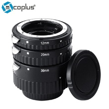 Mcoplus N-AF-B Enfoque Automático AF Anillo Tubo de Extensión Macro Lente adaptador para nikon d7100 d7000 d5300 d800 d750 d600 dslr cámara