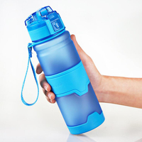 Tritan Water Bottle High Quality Plastic Outdoor Sport Drink Bottle Easy Carry Fashion Colorful Drinking Kettle