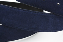 Luxury Suede Welour Genuine Leather Belt