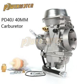 40mm PD40J 4 Stroke Motorcycle Carburetor Vacuum Carburetor Case ATV Quad Carb For POLARIS SCRAMBLER 500 4X4 SPORTSMAN 500 Worke pwk 40mm pwk40 carburetor for honda cr500r cr500 cr 500r 500 r kx500 replace ofkeihin carb
