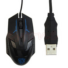 Tiger Wired X5 USB Optical Gaming Gaming Mouse Mice 1600 DPI For LOL Desktop Laptop Notebook Computer High Quality