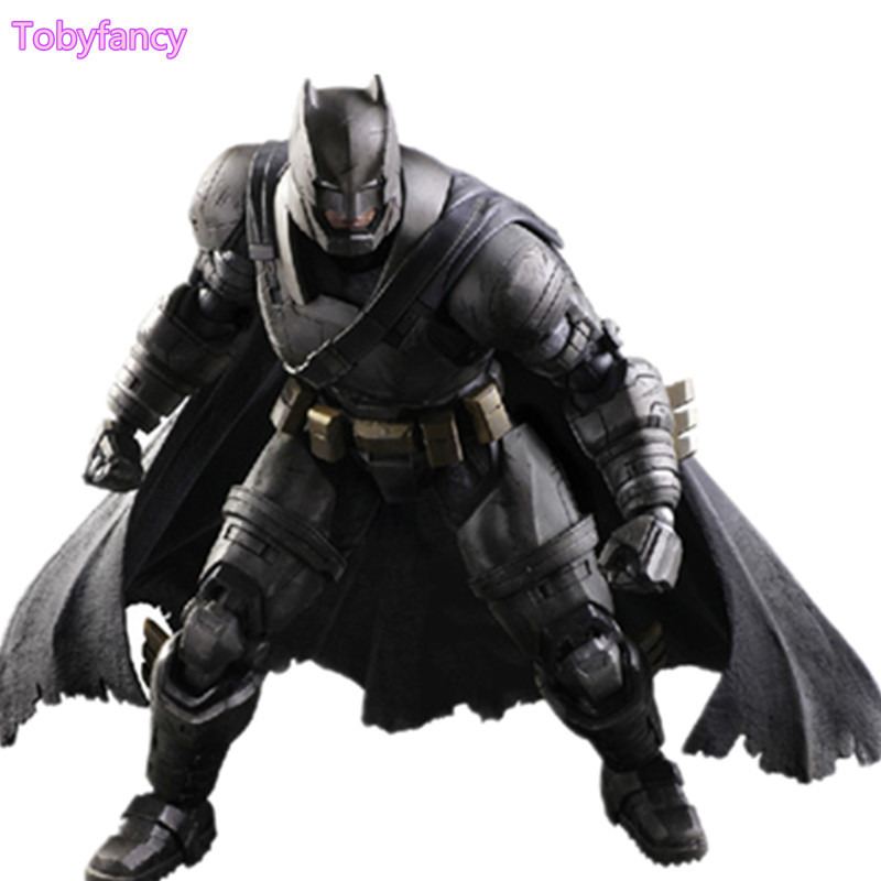 Batman Play Arts Kai PVC Action Figure Batman Superman Dawn of Justice Anime Collectible Model Toy Heavily-armored Playarts Kai