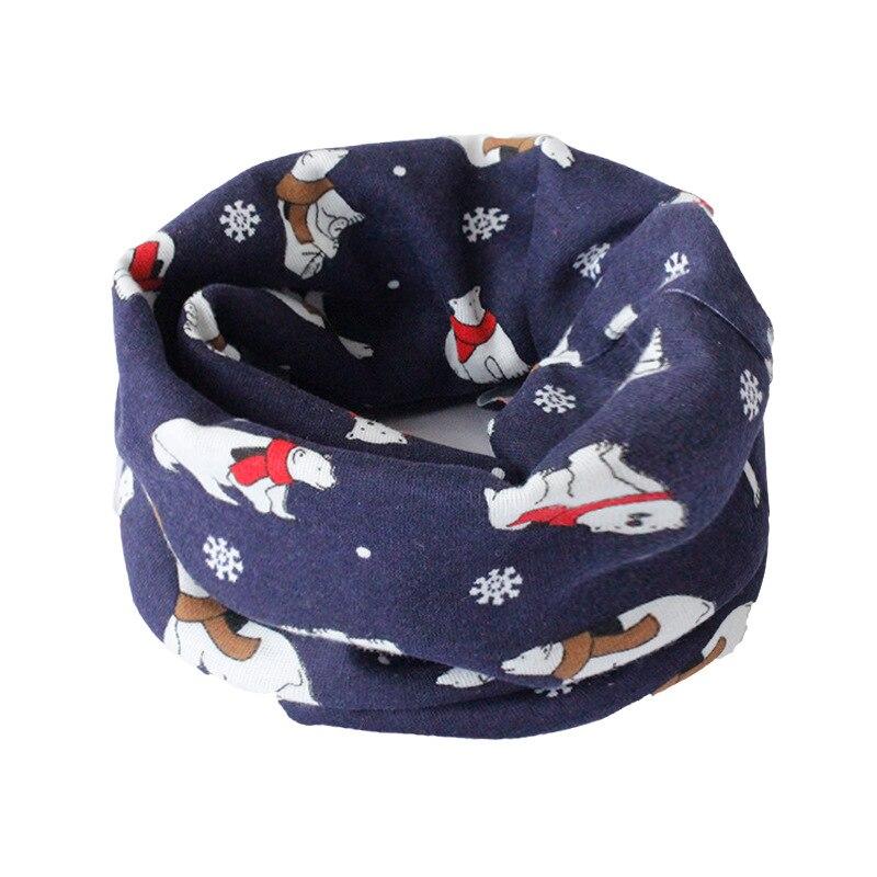 Весенний детский хлопковый шарф, теплый шарф для маленьких детей, осенне-зимние шарфы с героями мультфильмов для мальчиков и девочек, детский воротник с круглым вырезом, волшебный шейный платок