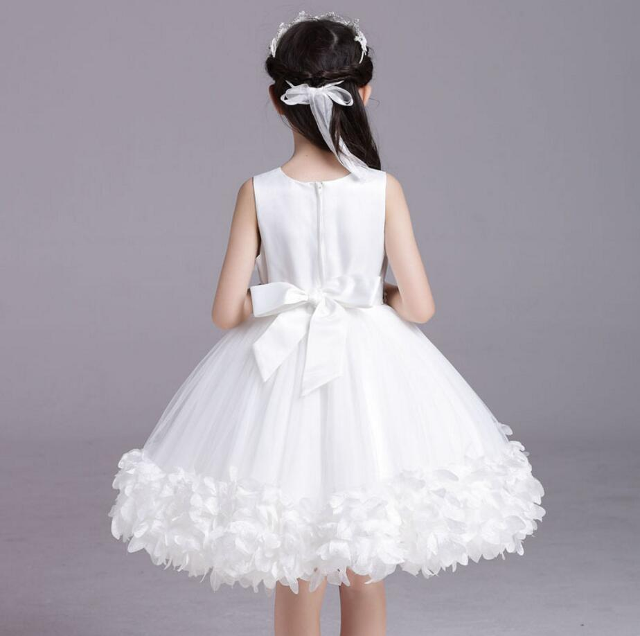2017 white ball gowns for girl with jacket princess party dresses ...