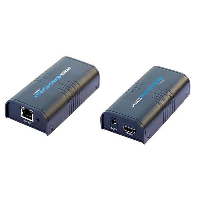 LKV373 V2.0 HDMI удлинитель IP/TCP по cat5e/6 до 120 м(только приемники) Поддержка 3D и full HD1080