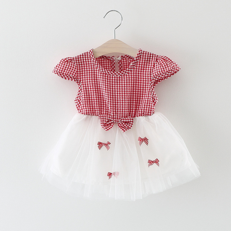 Newborn Baby Dress For Girls Sundress 2017 Summer Baby Girl Birthday Party Dresses for 0-24Month Infant Baby Clothes