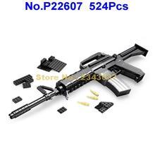 ausini  524pcs military assault rifles m16 gun building blocks Toy