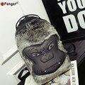 2016 Designer Mulheres homens Mochilas Animal Dos Desenhos Animados bolsa de Ombro Saco de Viagem Saco de Escola Para Os Meninos Adolescentes Meninas Gorila Lagarto
