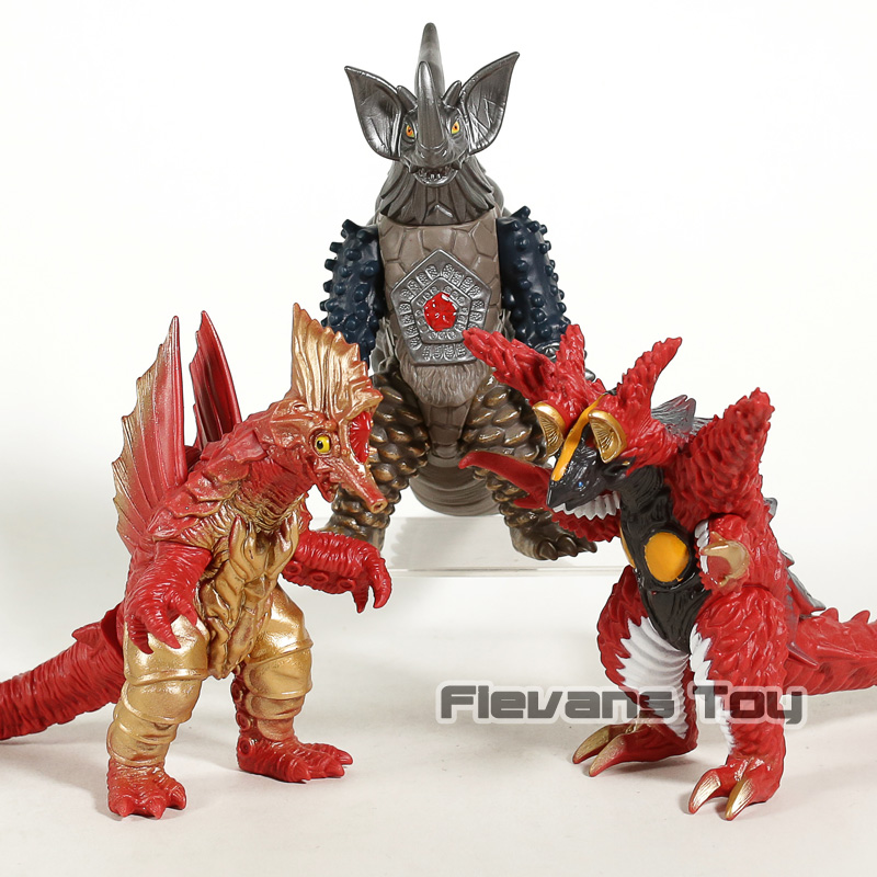 Kaiju Tyrant Maga Jabba Zepandon PVC Action Figure Collectible Model Toy Gift for Kids Boys figurine
