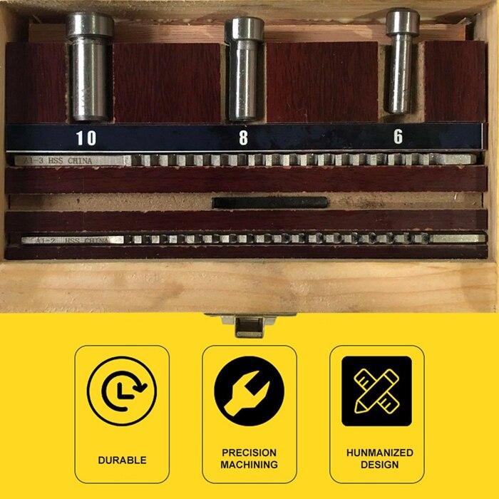 6 pcs Máquinas-ferramentas Acessórios Broches de Puxar