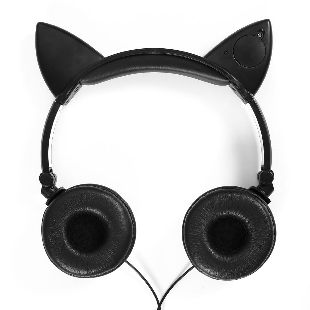 HTB1lRG OXXXXXbUXXXXq6xXFXXXu - Mindkoo Stylish Cat Ear Headphones with LED light