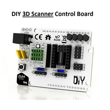 homemade DIY complete 3D scanner control board