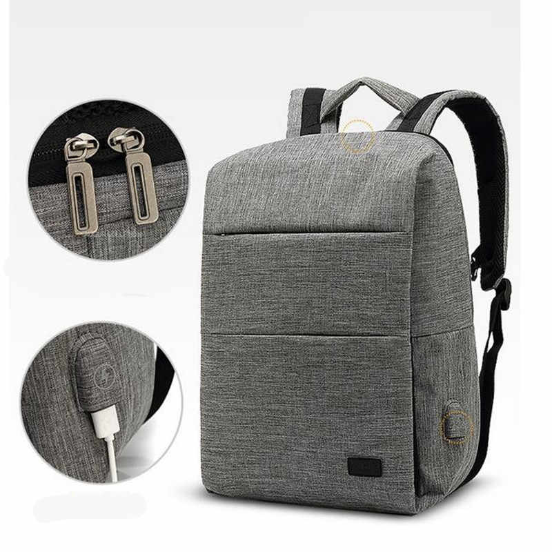 Multifunction Men's Backpacks Anti-thief Mochila for Laptop 14 Inch Notebook Computer Bags School Rucksack