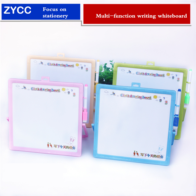 Multi-function Message Whiteboard 23*23cm Erasable Children Drawing Board