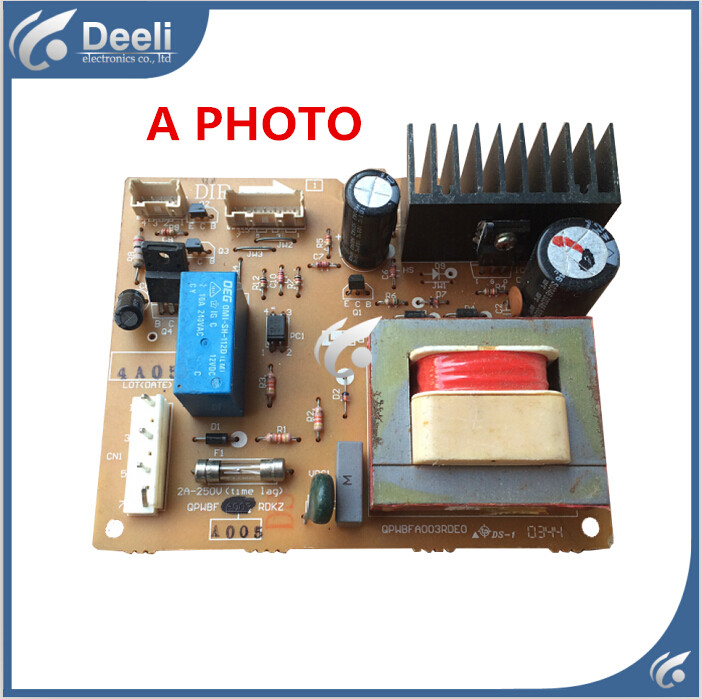 95% new USED good working for refrigerator pc board Computer board QPWBFA003RDE0 QPWBFA003RDKZ jd коллекция чёрный цвет