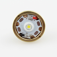 CREE XP L HI V2 1600lm 10x7135 Driver 1 Mode Brass Base LED Drop In For