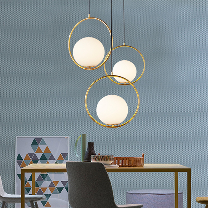 Nordic Pendant Lights Modern led Pendant Lamp Globe Hanging Lamp For Kitchen Living Room Light Fixture Home Lighting nordic novelty modern led wood chandelie living room pendant lamp bedroom stair lighting loft hanging lights fixture home light