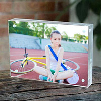 7 178x127mm Thickness 10 10mm Acrylic Magnet Photo Frame Home Decor Creative Rectangle Crystal Picture