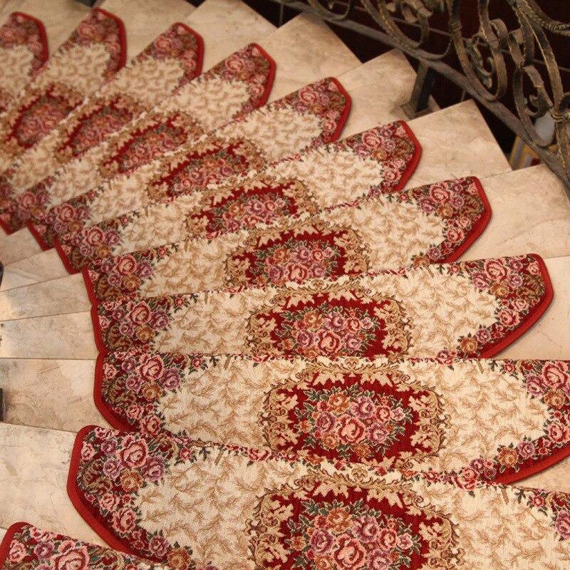 kitchen carpet Stair stepping pad adhesive glue free self priming non slip floor mats wood stairs Carpet mat mat bathroom carpet-in Mat from Home & Garden ...