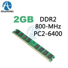 2GB 800MHZ 240Pin AMD Memory RAM DIMM PC2-6400 For 800D2N6/2G AMD CPU Motherboard Desktop Computer(China)