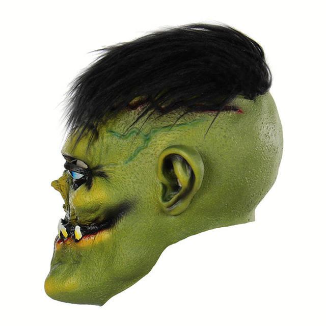 Halloween Horrible Green Monster Mask