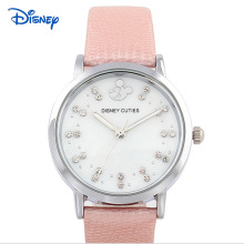 DISNEY 2016 Ladies Watch Women Watches Brand Famous Female Clock Quartz Watch Wrist Rhinestone dress Quartz
