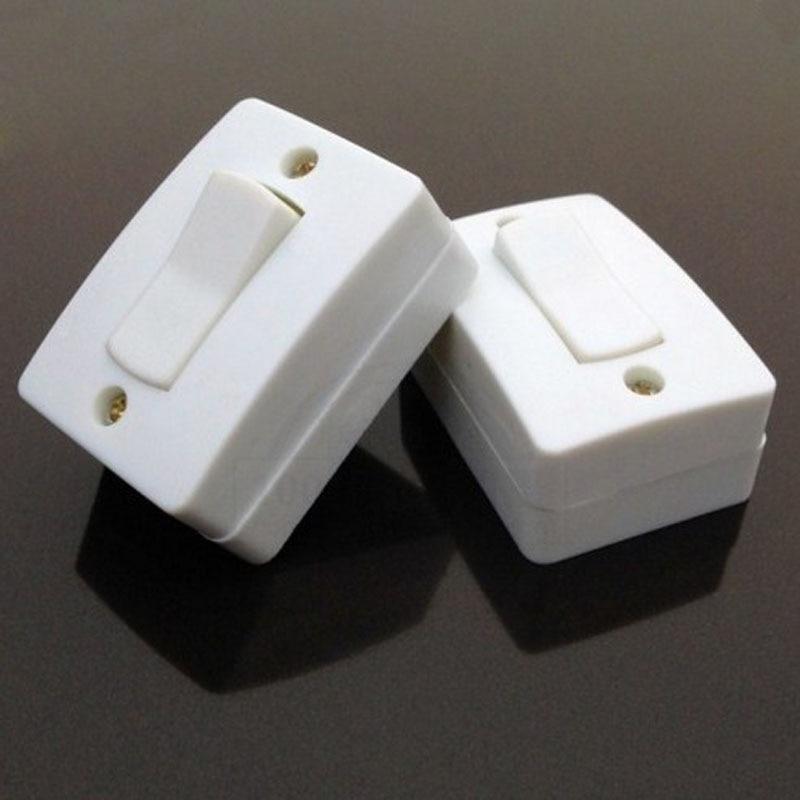 40pcs Rocker Plate Wall Switches Push Button Switch