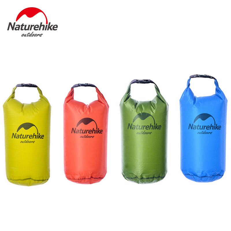 5L 10L 20L 30L Naturehike Waterproof Bag Light protable Dry Bag River Trekking Swimming Drifting Cellphone rainproof Folding Bag
