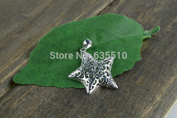 925 Sterling Silver Star Charms fit Fashion Bracelets Making