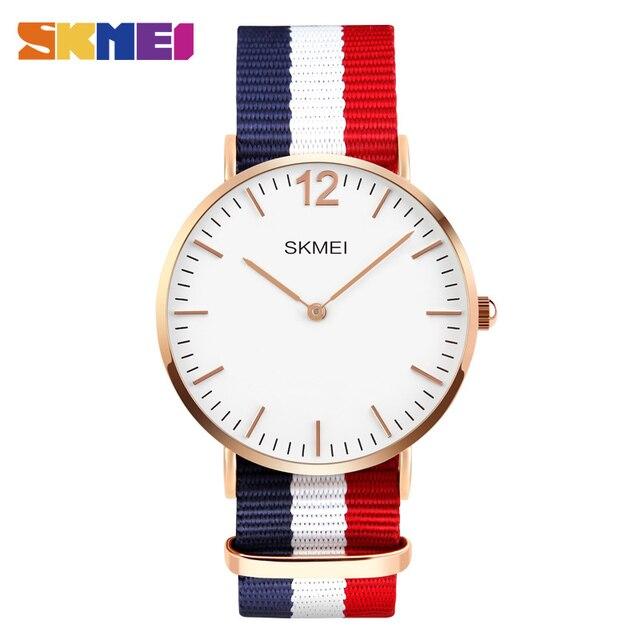 SKMEI Lovers' Quartz Watches Luxury Men Women Fashion Casual Watch 30M Waterproo