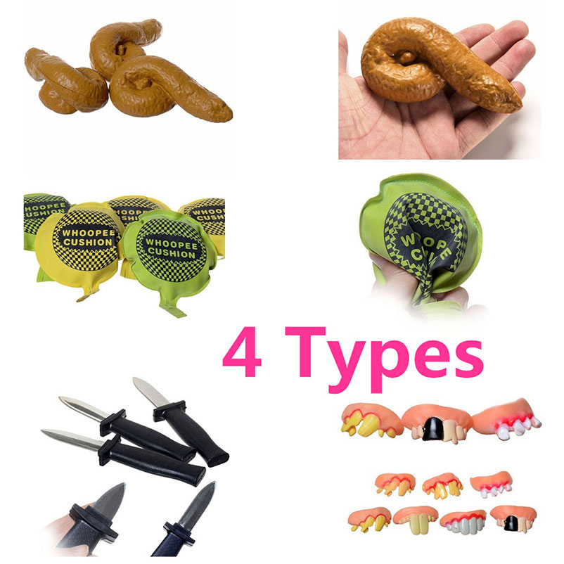 1Pc Joke Ragging Fart Pad Antistress Stool Bad Teeth Bayonet Toy Kids Children Family Party Funny Toy Gift Mobile Phone Straps sensory scout