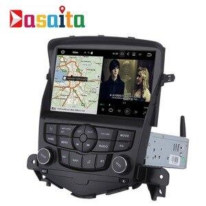 """Image 3 - Dasaita autoradio 8 """", Android 9.0, navigation GPS, lecteur multimédia stéréo, pour voiture Chevrolet Cruze (2008 2011), Quad Core, 2 go/16 go"""
