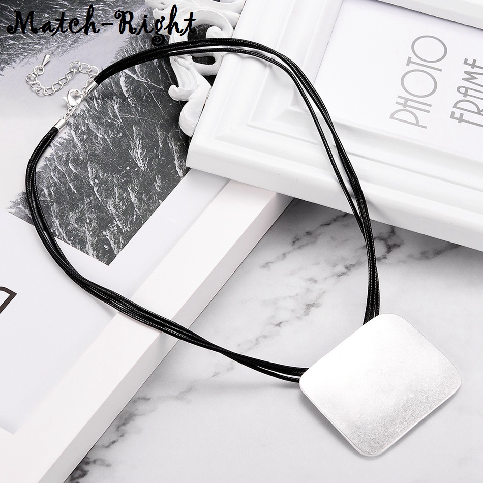 Women's Leather Chokers Necklace Vintage Statement Necklaces $ Pendants Women Fashion Jewelry collares mujer kolye bijoux LG534