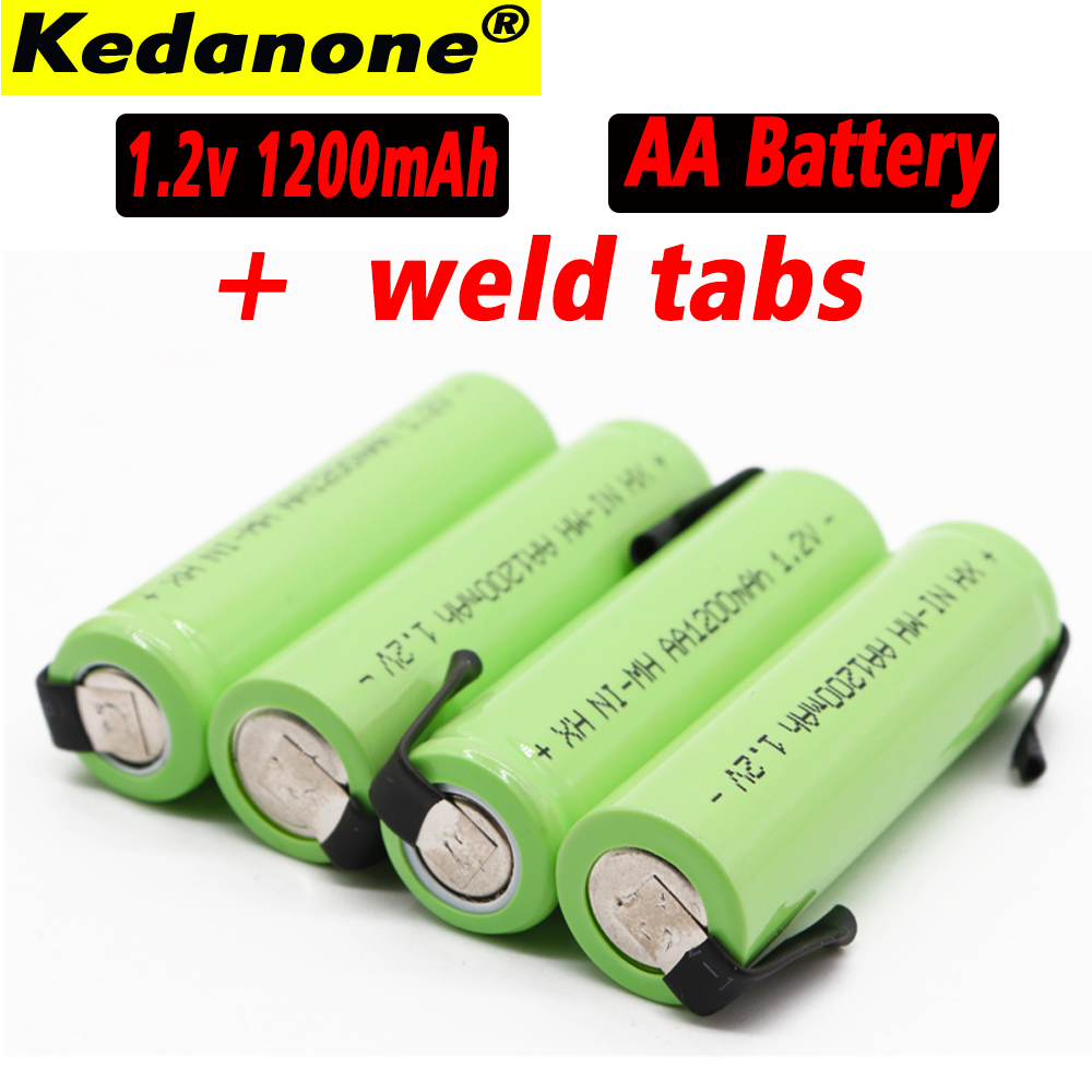 <font><b>AA</b></font> <font><b>Rechargeable</b></font> <font><b>Battery</b></font> <font><b>1.2V</b></font> 1200 mAh <font><b>NiMH</b></font> 14430 <font><b>aa</b></font> <font><b>Battery</b></font> with soldering for DIY electric razor teething toys Safety <font><b>battery</b></font> image