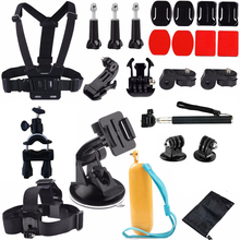 RB For Gopro 4 accessories kit with Selfie Stick Bicycle Mount for Gopro Hero 5 hero 5 session hero 4 hero 4 session hero3+ he
