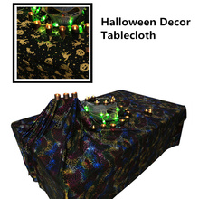 High-quality Halloween Decor Props Spiderweb Tablecloth art european Creative table cover DIY Ghost festival tablecloth