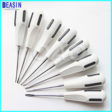 8pc curved root elevator dentistry dentist dental instrument teeth whitening equipment dentist stainless steel