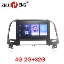 ZHUIHENG 2 din car radio for Hyundai Santa Fe 2006-2012 car dvd player GPS navigation car accessory with 2G+32G 4G internet