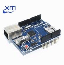 10 pz/lotto Shield Ethernet Shield W5100 scheda di Sviluppo per UNO Mega