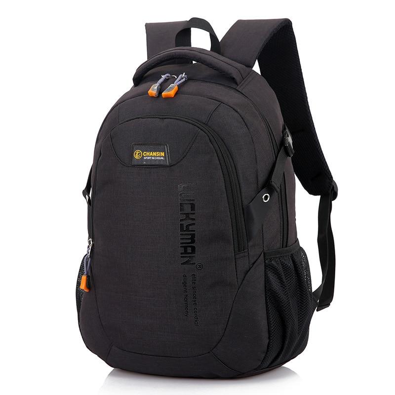 2017 New Men Backpack Bag Canvas Travel Student Backpacks Fashion Men And Women Designer Laptop Bag