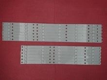 새로운 키트 12 pcs led 백라이트 스트립 교체 50pfk6510 500tt41 500tt42 v4