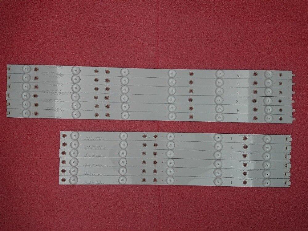 New Kit 12 PCS LED Backlight Strip Replacement For 50pfk6510 500TT41 500TT42 V4