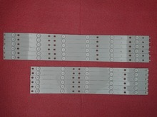 Nouveau Kit 12 pièces LED bande de rétro éclairage De Remplacement pour 50pfk6510 500TT41 500TT42 v4
