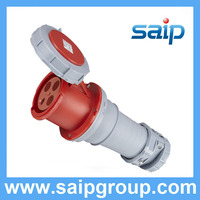IP67,400VAC,125A,5Pin waterproof plastic electrical connector SP1450